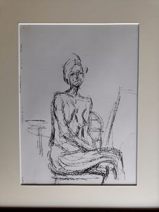 Alberto Giacometti - Female model