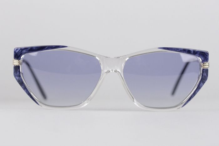 YVES SAINT LAURENT Vintage MINT Blue SUNGLASSES EUTERPE 60mm 710