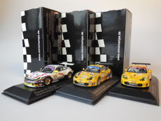 Minichamps - Scale 1/43 - Lot with 3 x Porsche 911 GT3 RS