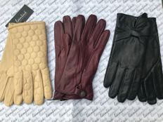 Laimböck – Lot of 3 pairs of women's gloves size 8 (NL/DE)