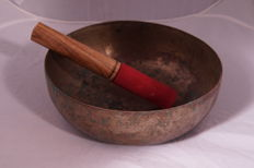 Antique singing bowl - Nepal - early 20th century