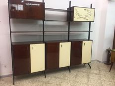R&B Italia - Mobile Bookshelf Dresser
