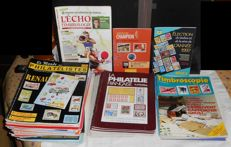 France 1986-2000 - lot of 50 stamp magazines