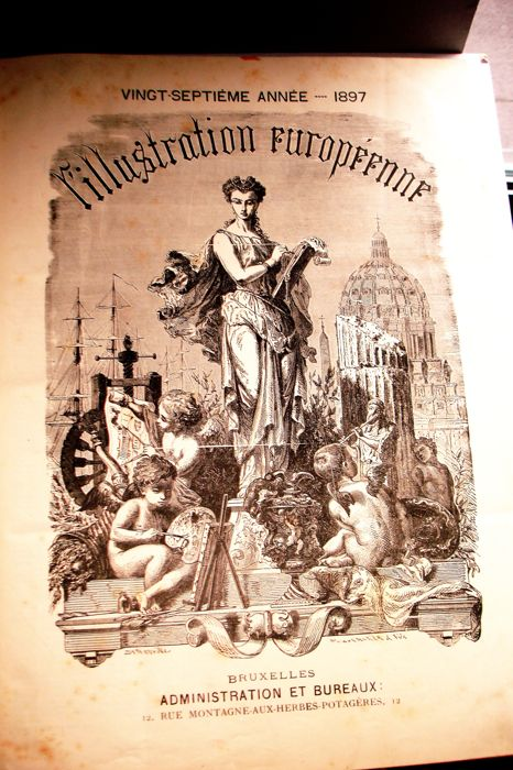 L'Illustration Européenne - 52 weekly issues - 1897