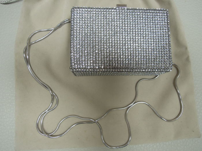 Daniel Swarovski - evening bag studded with Swarovski crystals