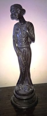 Bronze sculpture - end of 19th century
