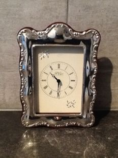 R. Carr- English sterling silver clock