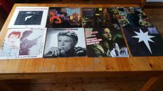 David bowie , lot of 8 records