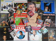 Christmas time is coming  get your music in time. 12 LP's + 12 CD's