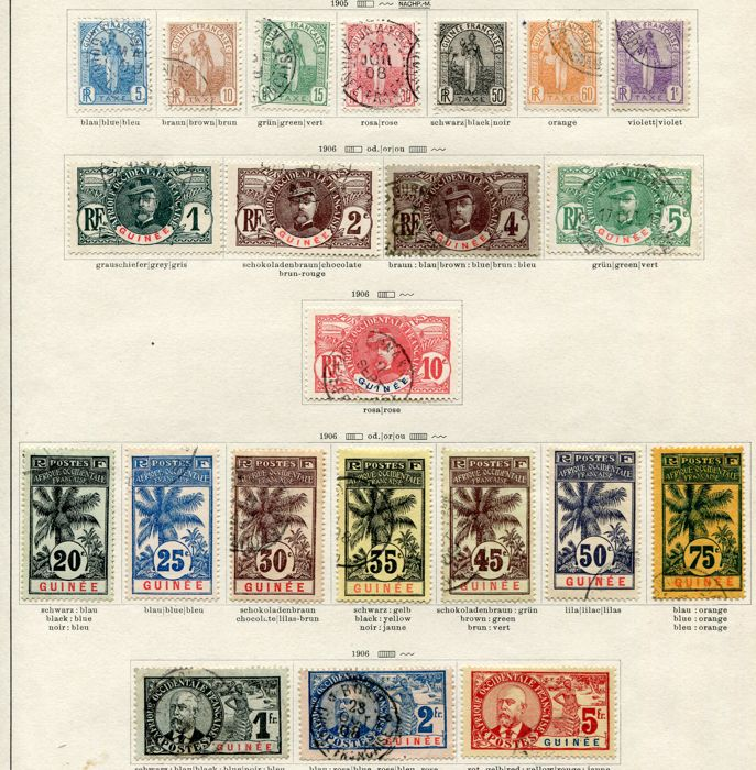 French colonies and French offices abroad - Extended collection of various countries from the classical period up to the 1940s.