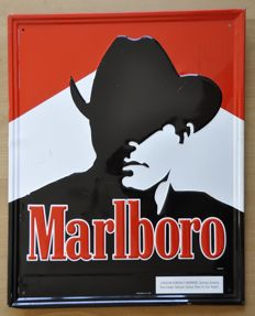 Metal Sign - Marlboro - 1992