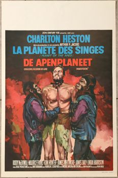 Anonymous - La Planète des singes (Planet of the apes, Charlton Heston) - 1968