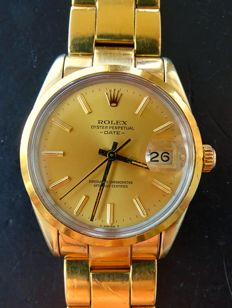 Rolex Oyster Perpetual Date Automatic Chronometer Ref. 15505 – Vintage men's wristwatch  – 1985