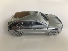 2014 Porsche Macan Turbo - Solid Aluminium Paperweight in Luxury Gift Box - Scale 1:43