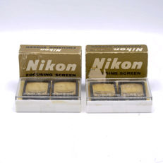 4x Nikon Focusing Screen Type C / D / M / H1 (2147)