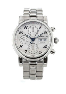 Montblanc - Star 39 Automatic Silver Dial Day Date - 106468 - Unisex - 2011-presente