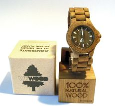 WeWOOD made in Italy - Date Army - original, in natural wood - perfect