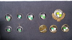 10 Puch speldjes of pins - c.1960