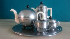 Tea set, Art deco style, Heatmaster England