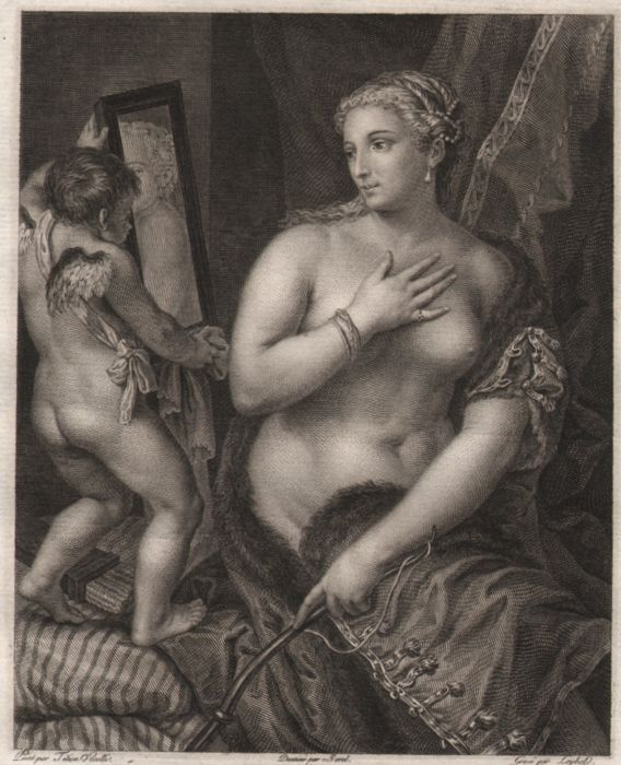 La Toilette de Venus - From the painting in the collection of the Duke of Orleans - 1785