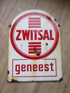 Enamel advertising sign Zwitsal - ca 1940s/50s