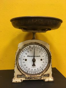 Alexanderwerk weighing scale