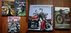 Literature; Lot of 5 books about Motorcycles - 1993/2009