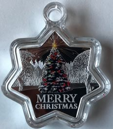 "Australia - Dollar 2015 ""Merry Christmas"" - 1 oz silver"
