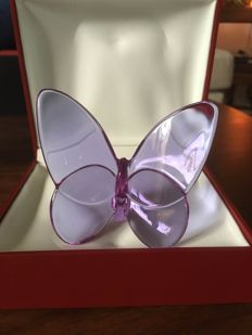 Baccarat Lucky Butterfly, Purple