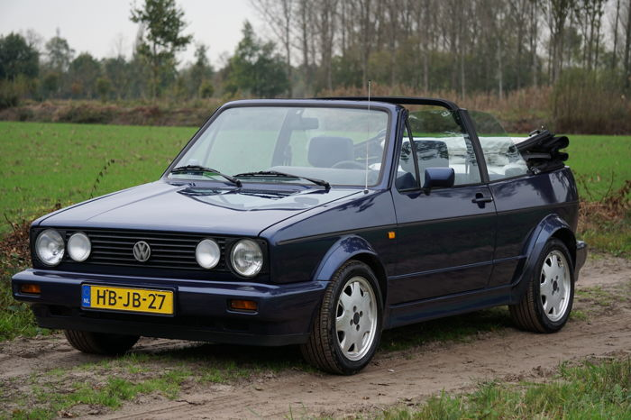 volkswagen golf 1 cabriolet 1 8i 1993 catawiki. Black Bedroom Furniture Sets. Home Design Ideas