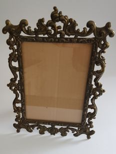 Photo frame - bronze - 25.5 x 19