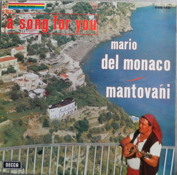 A Song For You 17 LP's and Two Double Albums with Mario Del Monaco - Mario Lanza - Luciano Pavarotti and Placido Domingo.