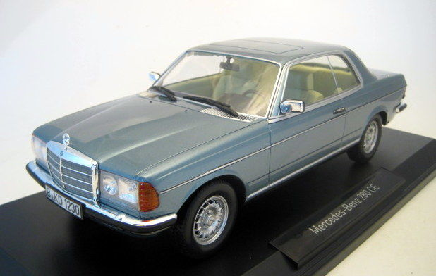 norev scale 1 18 mercedes benz 280 ce coupe w123. Black Bedroom Furniture Sets. Home Design Ideas