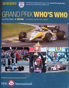Book : Autocourse Grand Prix Who's Who -  832 pages
