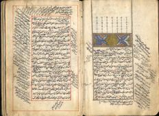 Islamic illuminated manuscript - late 17th century