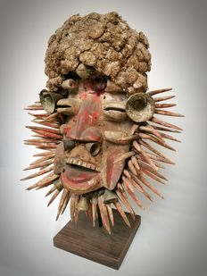 African Guere Mask - WÉ - Ivory Coast