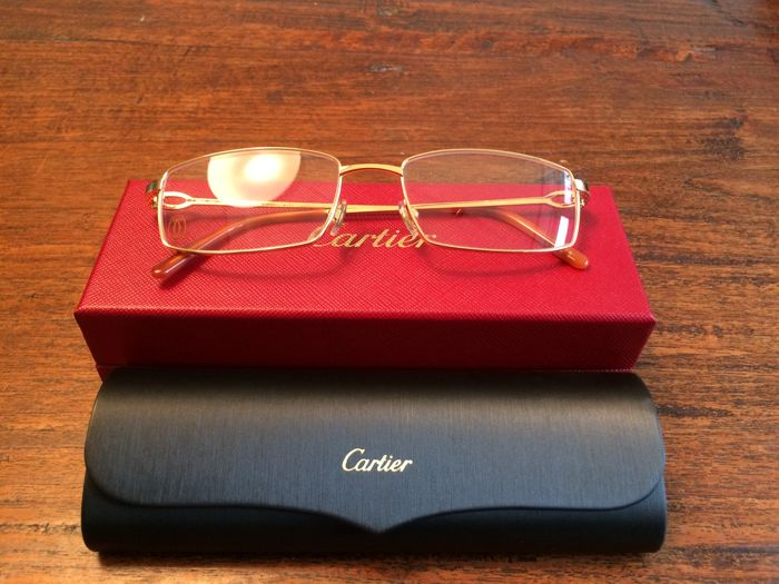 Cartier-I correction eyeglass frame - men's