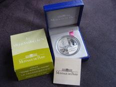 "France - 1½ Euro 2004 ""World voyages - Trans-Siberian Express"" - silver"