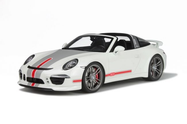 GT-Spirit - Sca 1/18 - TechArt 991 Targa - white/red