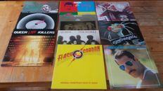 Queen and solo members , beatiful lot of 10 records