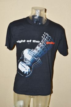 "Extreme Rare ""Night Of Guitars"" Event T-Shirt 1989 + b/w Promo Photo"