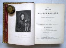 The Works of William Hogarth in a Series of Engravings - 2 volumes bound as 1 - 1833