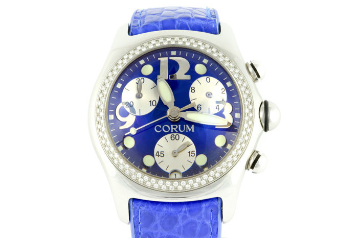 Corum Bubble Chronograph With Diamonds - Unisex