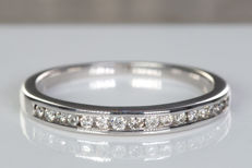 Fine alliance, diamond ring - Size: 51 - No Reserve price!