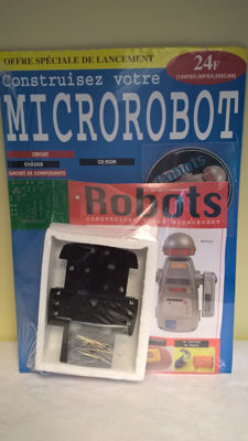 Outstanding: MICROROBOT MONTY to build - Complete collection in 60 issues (papers + mounting parts) - Brand new (sealed) - Published between 2001 and 2002 Published by F&G