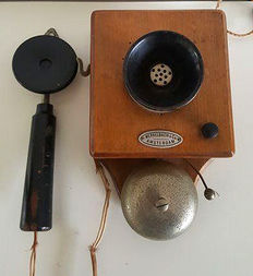 Merkelbach & Co - Amsterdam, intercom, 1940s