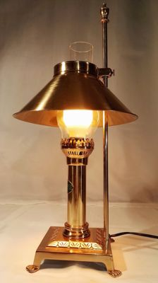 Paris Orient Express Istanbul brass table lamp - Oriental style - in excellent condition