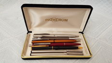 Inocxrom - lot of 7 pens vintage and modern. Made in Spain.