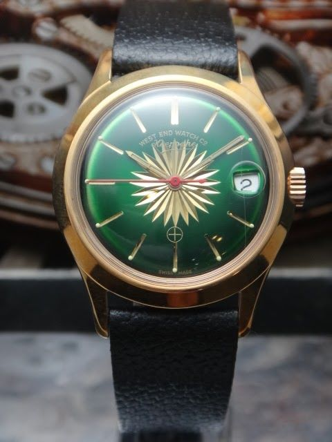 West End Watch Co - Vintage - 1970's - men watch
