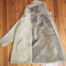 Genuine Suede Sheepskin - Luxury Duffle Coat - ***NO RESERVE***